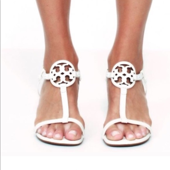 Tory Burch Miller Wedge Leather Sandal